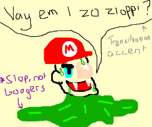 Mario the sloppy vampire