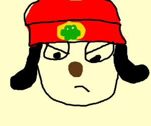 Parappa the Rapper gets mad.