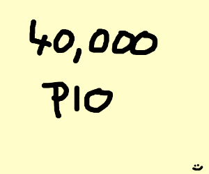 40,000 PIO