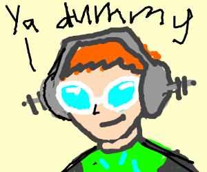 jetset radio ya dummy, its obvious