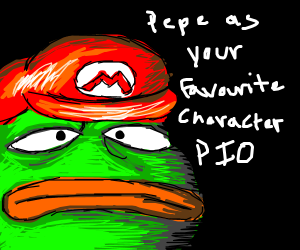 Pepe as your favourite character (P.I.O)