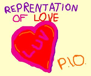 Representation of Love PIO.