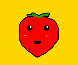 Happy strawberry