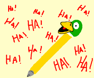 Laughing duck pen