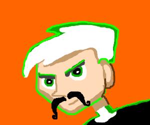 Danny Phantom's beautiful mustache.