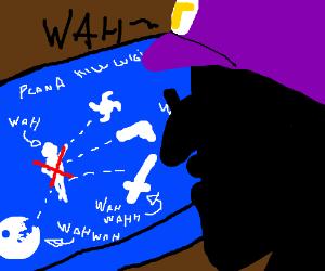 Waluigi plans to kill Luigi