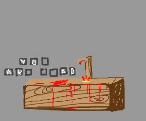 A Hellish game of Hangman