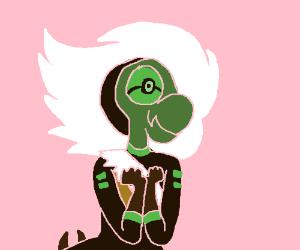 female cyborg Yoshi