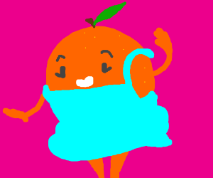 A nice looking orange