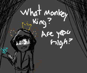Zodiac Killer Monkey-King holding Diamond