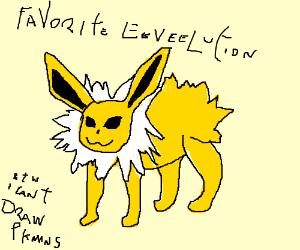 Favorite Eeveelution (PIO)