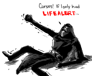 Kylo Ren has fallen and he can't get up