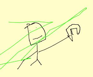 Anti Social Guy Plays Ps3 Drawing By Texas Pancake100