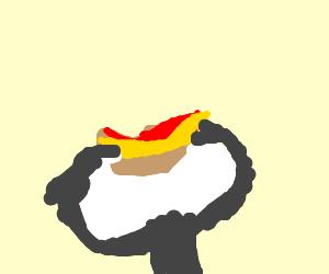 molasses pooing on a fabulous peanut