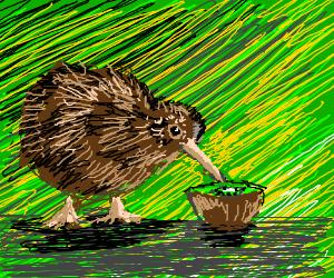 Kiwi Fruit Bird 81080   DESIGNTVI