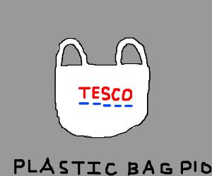 Plastic bag, PIO.