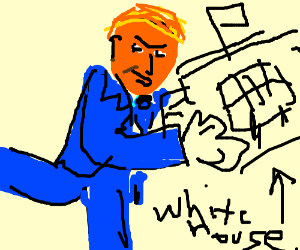 TRUMP WILL STEAL THE WHITE HOUSE
