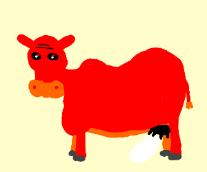 Demonic cow releases alien ghosts from udders