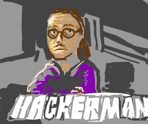 Drawception is HACKERMAN (Kung fury)