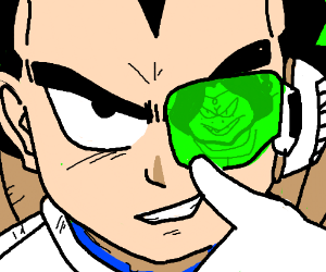 Stronger Than U Scene But With Vegeta Instead.