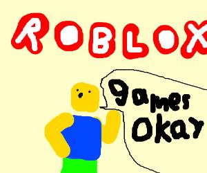 steve plays robloox