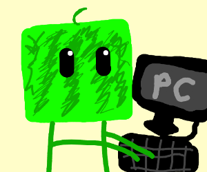 cube watermelon uses PC