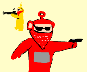 Gangster Teletubbies