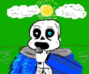 Sans is lead singer of Green Day