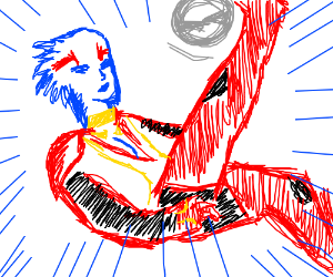Samara scores with a bicycle kick