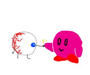Eyeball...fists Kirby? (Keep it SFW)
