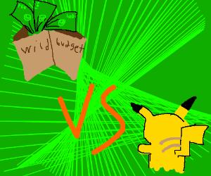 pokemon battle against wild budget