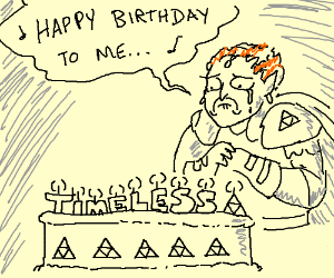 Happy birthday Gannondorf!(no one shows up...)