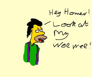 look at my wee wee - lenny