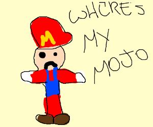 Mario has lost his mojo