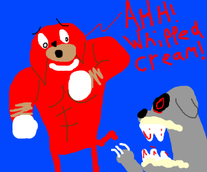 Nipples the Enchilada? (a red bulldog?) - Drawception