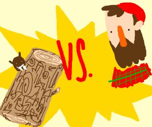 Wood versus Lumberjack ft. Beaver
