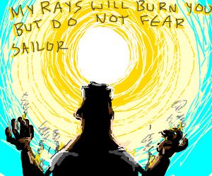 Sun is a cool murderer of terrified sailor