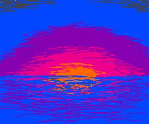 a REALLY beautiful sunset