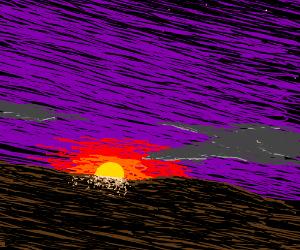 Magnificent sunrise/sunset