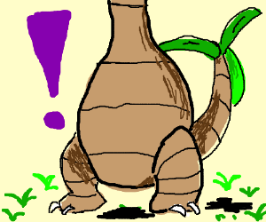Alola form Exeggutor is too tall (Pokemon)