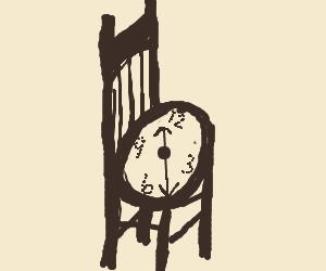 Clock/chair