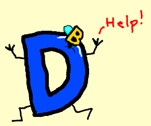 Drawception D stuck by bee