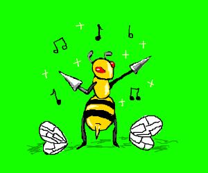 dancing wingless beedrill