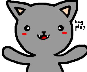 Kitty just wants a hug
