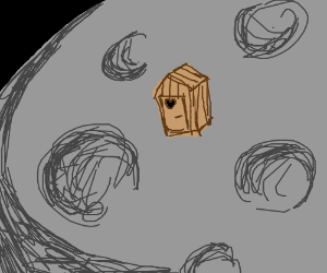 Outhouse on the Moon