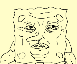 spongebob twatface