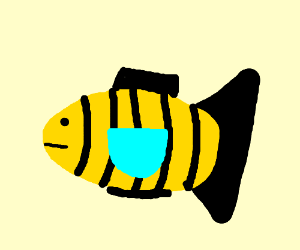 All fish are now bees