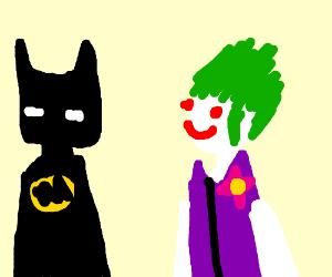 old school batman and joker