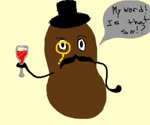 that peanut monocle guy