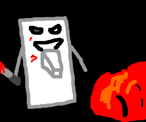 A light switch murders a tomato